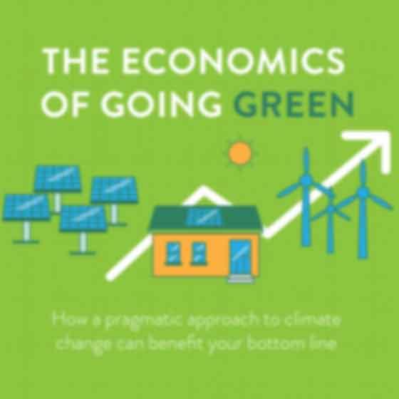 Infographic design for Huffpo-green