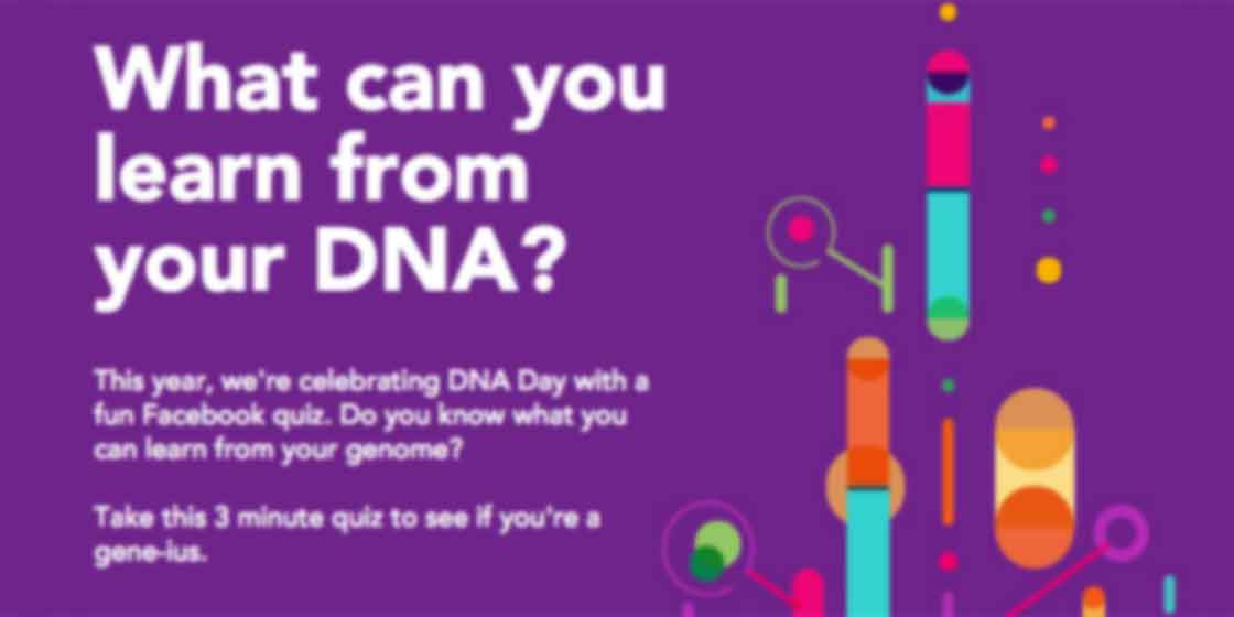 Interactive website design for 23andme